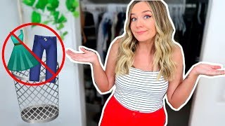 """GETTING RID OF MORE """"SKINNY"""" CLOTHES 