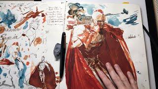 Sketchbook Livestream: Timed Gestures