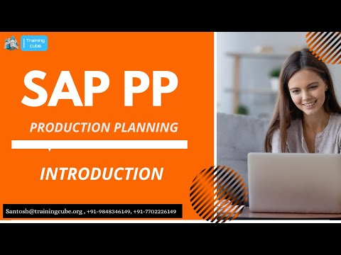 SAP PP (Production planning ) Online Training - [Training cube ...