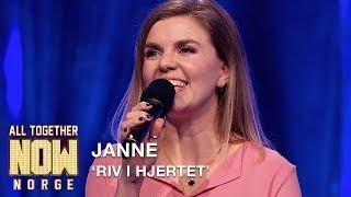 All Together Now Norge   Janne Fremfører Riv I Hjertet Av Sondre Justad   TVNorge