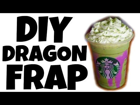 DIY DRAGON FRAPPUCCINO – Starbucks off menu recipe