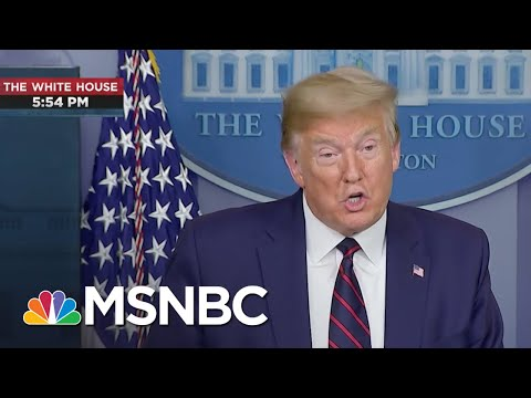 Trump: 'This Is Not The Time For Politics...It's Not Any Time For Witch Hunts' | MTP Daily | MSNBC