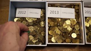 ОХОТА НА 1 ТЕНГЕ 1997 ГОДА. РЕДКАЯ МОНЕТА КАЗАХСТАНА / COIN HUNTING ON 1 TENGE 1997 YEAR