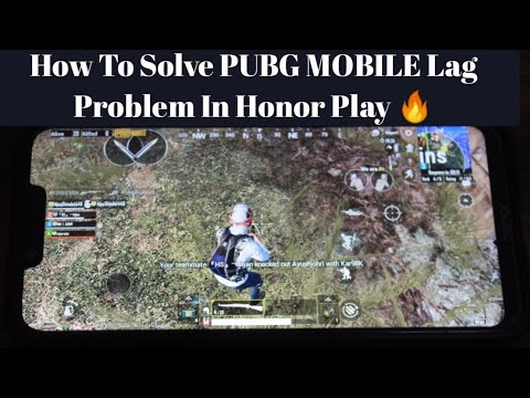 How To Solve PUBG Mobile Lag Problem In Honor Play 🔥Or Any Android Phones 😍! Touch Delay Solved ?