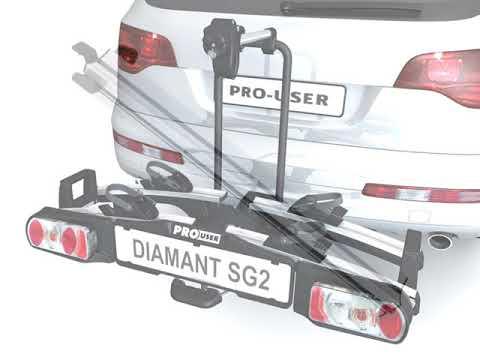 Pro-User Diamant SG3 kerékpártartó vonóhorogra