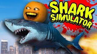 SHARK SIMULATOR - Dr. Buttchomp! [Annoying Orange Plays]