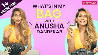 What's in my bag with Anusha Dandekar | Fashion | Bollywood | Pinkvilla