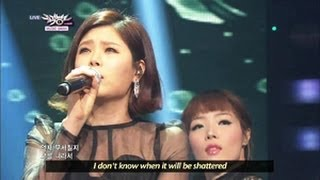 Lyn - Breakable Heart (2013.05.11) [Music Bank w/ Eng Lyrics]