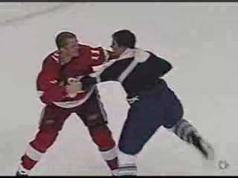 Danny Cleary vs. Kris Newbury