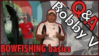 What to do during the Bowhunting Offseason. Bowfish! – Q & A with PSE's Bobby V