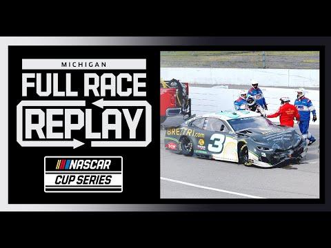NASCAR ファイヤーキーパーズカジノ400(ミシガン・インターナショナル・スピードウェイ)フルレース動画