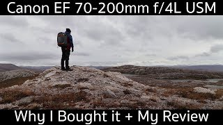 Why I Bought the Canon EF 70-200mm f/4L USM Lens - Testing and Review