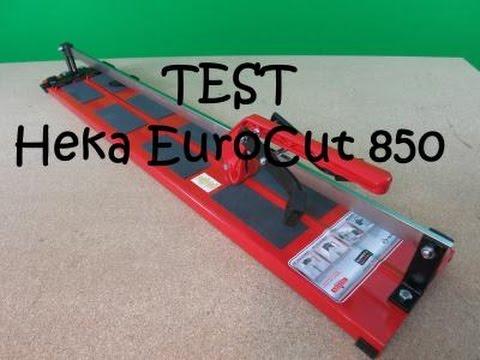 Heka Fliesenschneider EuroCut 850mm -Test