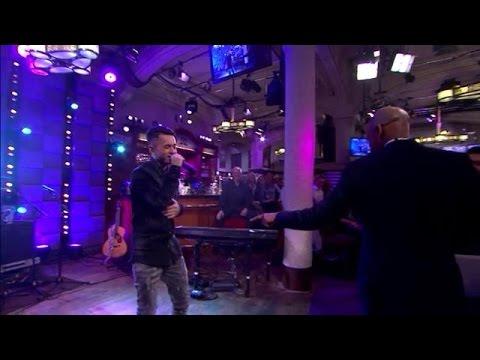 TVOH-finalist Vinchenzo krijgt Humberto aan het da - RTL LATE NIGHT