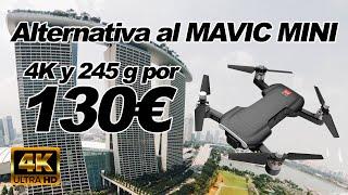GANGA? Alternativa al MAVIC MINI - Dron de 245g y 4K (por 130€) MJX Bugs 7