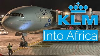 KLM 777 Business Class Review from Amsterdam to Cape Town