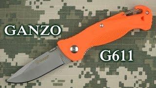 Ganzo G611-OR - відео 1