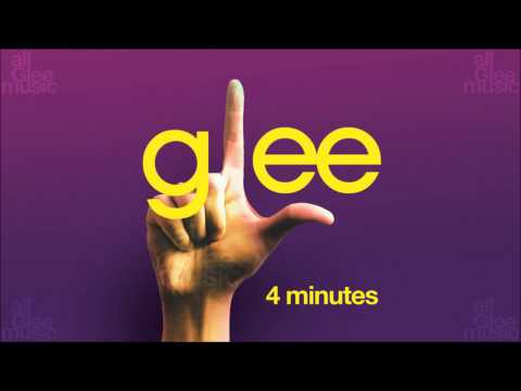 4 Minutes | Glee [HD FULL STUDIO]