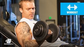 Strong-Arm Tactics | James Grage by Bodybuilding.com