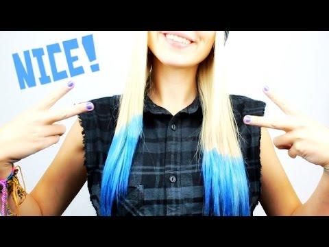 Haare färben mit Krepppapier - für 2€! | DIY | Hair Tutorial #Bonnytrash