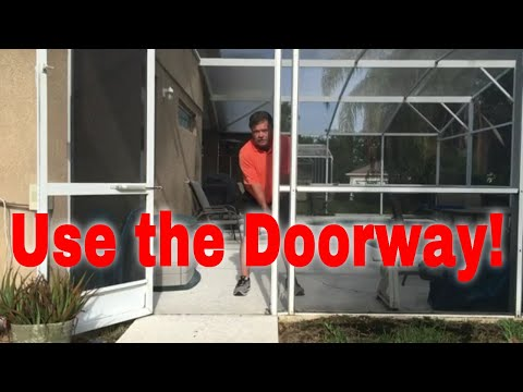 Indoor Golf Drills - Doorway Impact Drill