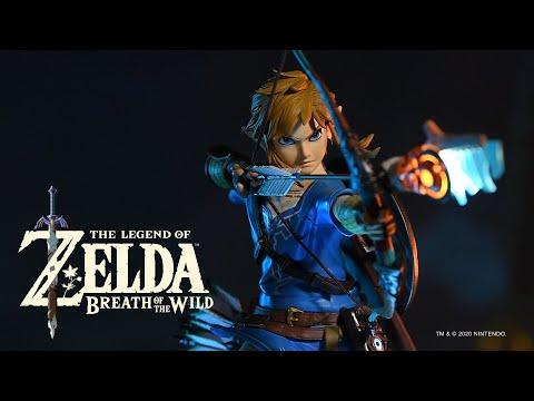 Видео № 0 из игры Фигурка First4Figures Legend of Zelda: Breath of the Wild - Link (Exclusive Edition)