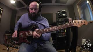 julien bitoun with a bass
