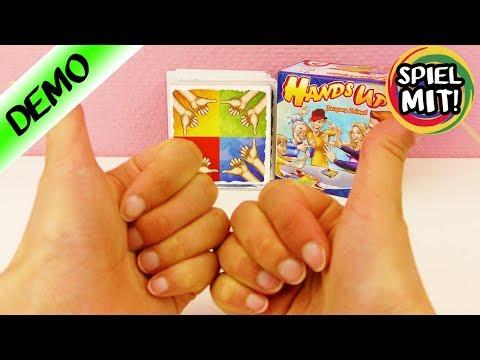 Finger verbiegen & verrenken   Hands up   Das verrückte Action Familien Spiel   verrückte Hand Posen