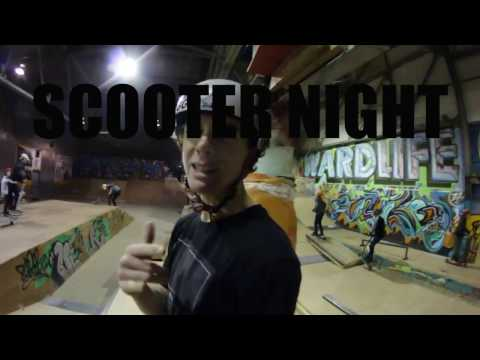 SCOOTER NIGHT AT THE WARD SKATEPARK AND SHOP