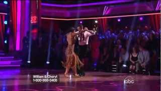 "Tango""Buttons"" DWTS14- Cheryl Burke and William Levy."
