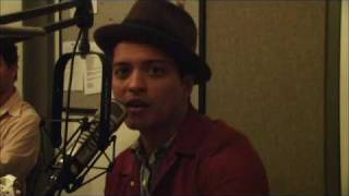 BRUNO MARS INTERVIEW WITH ASTRA FROM 106.1 BLI