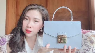 FURLA METROPOLIS TOP HANDLE BAG REVIEW | Pros/Cons , What Fits | Everything