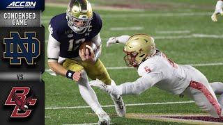 Notre Dame vs. Boston College Condensed Game | 2020 ACC Football