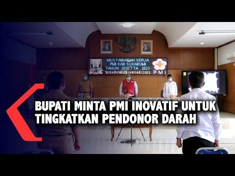 Bupati Minta PMI Inovatif Untuk Tingkatkan Pendonor Darah