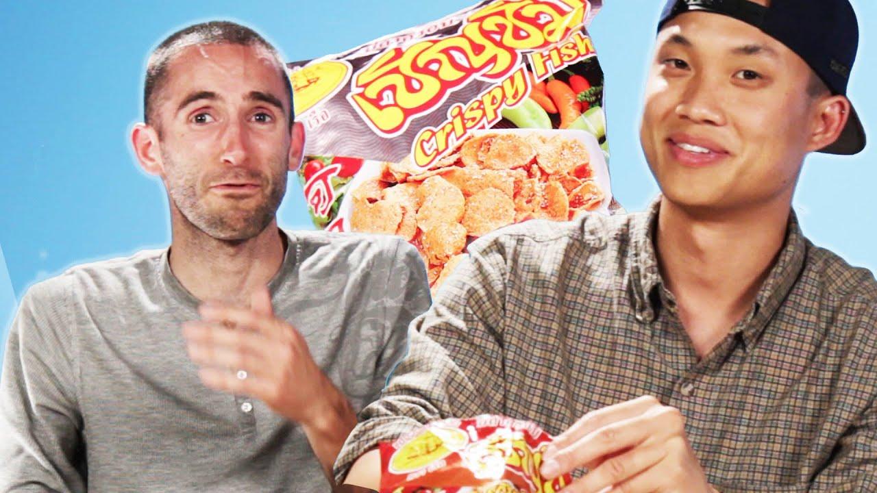 Americans Try Thai Snacks thumbnail