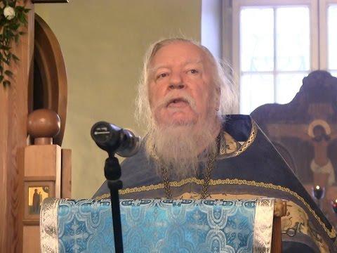 Проповедь в праздник Введения во храм Пресвятой Богородицы