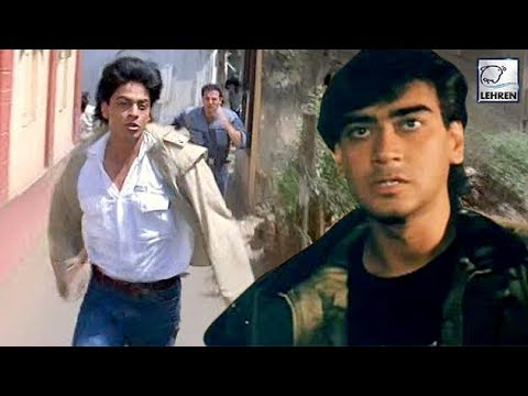 Ajay Devgn's Ugly Fight With Shah Rukh Khan In Front Of Kajol | Lehren Diaries