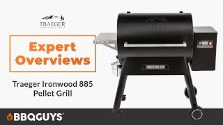 Traeger Ironwood Wood Fired Pellet Grill Expert Overview | BBQGuys