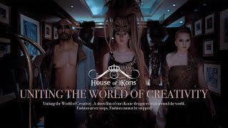 House of iKons Fashion Week London February 2021 #Fashion #LondonFashionWeek2021 #Model # Creativity