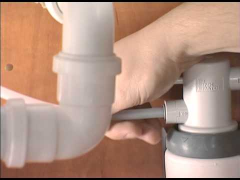 Steaming Hot Water Tap Installation