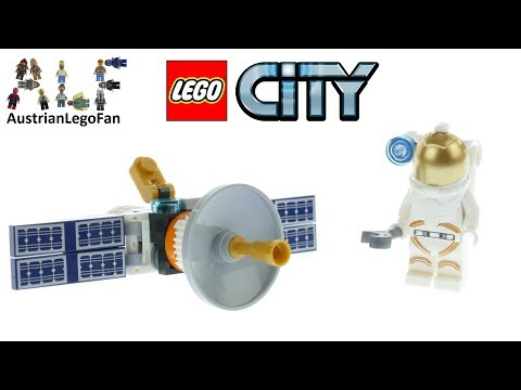 Vidéo LEGO City 30365 : Space Satellite (Polybag)
