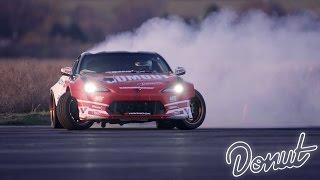 Ryan Tuerck Formula Drift Test Session   Donut Media