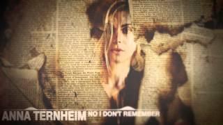 Anna Ternheim   No i dont remember