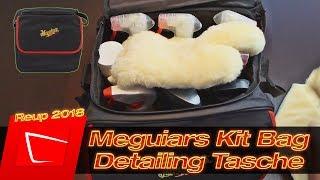 Meguiars Kit Bag Detailing Transporttasche im Test - Wieviel Platz steht zur Verfügung?