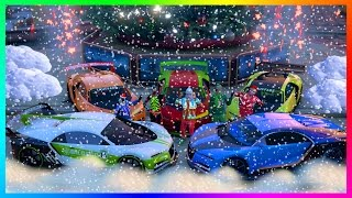 GTA ONLINE CHRISTMAS DLC 2016 NEW GTA 5 FESTIVE SURPRISE UPDATE - SNOW HYPE, MAKING MILLIONS & MORE!