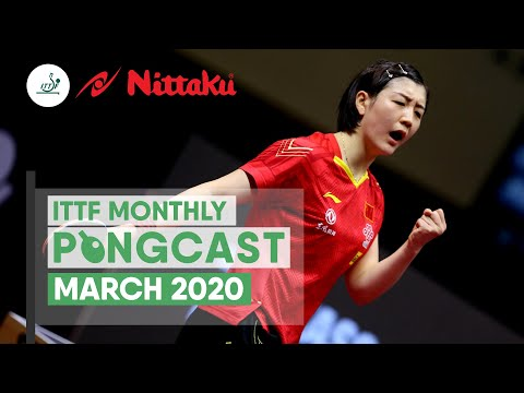 March 2020 | Nittaku Pongcast  2020.4.7