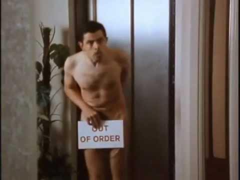 Nude oil massage body