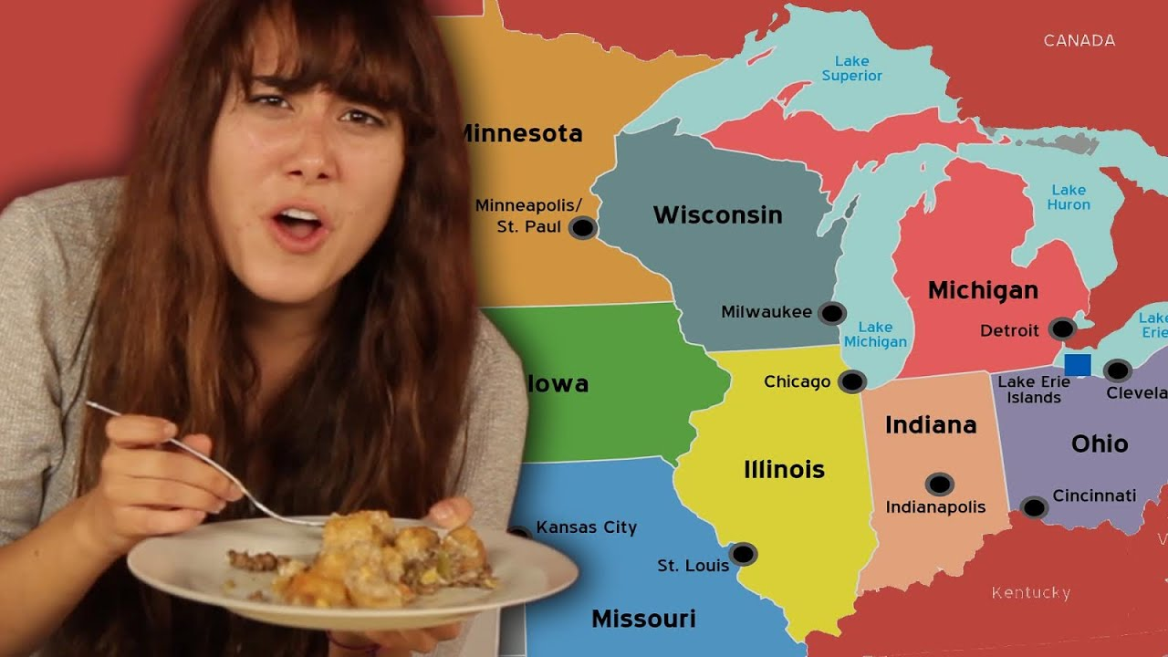 Americans Try Midwest Food For The First Time thumbnail