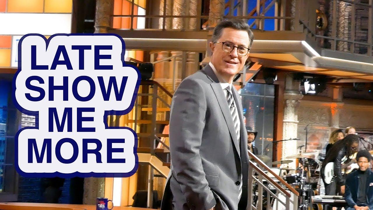 LATE SHOW ME MORE: Colbert's House thumbnail