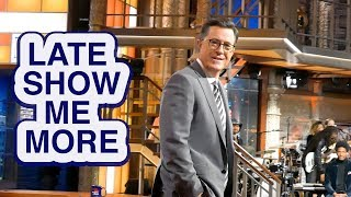 LATE SHOW ME MORE: Colbert's House